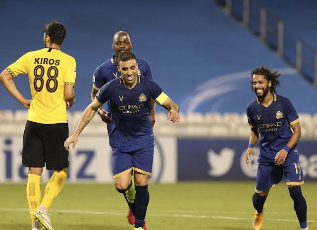 مشاهدة مباراة النصر وسباهان أصفهان بث مباشر