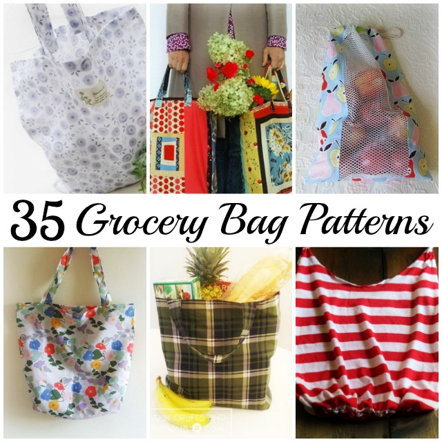 Grocery Bag Pattern Roundup; Becky Cooks Lightly