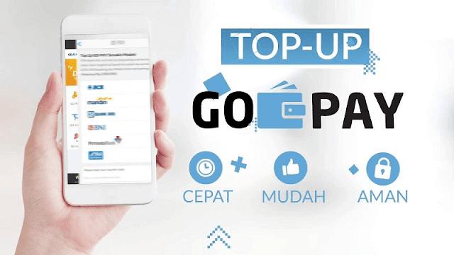 cara top up gopay dengan berbagai metode yang disediakan