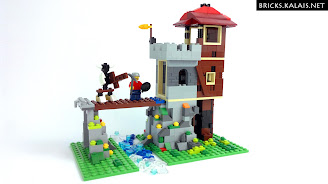 [BRICKFILM] LEGO 31025 Mountain Hut goes Castle
