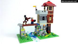 [FILM] LEGO 31025 Chatka w górach zamienia się w zamek