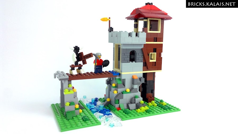 2. LEGO 31025 - my modification of the set