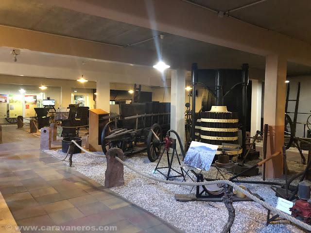 Museo del vino en Vieil Armand | Alsacia y Selva Negra en autocaravana