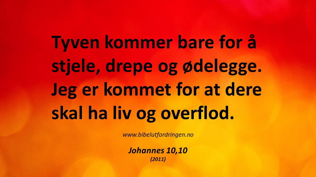 Johannes 10,10