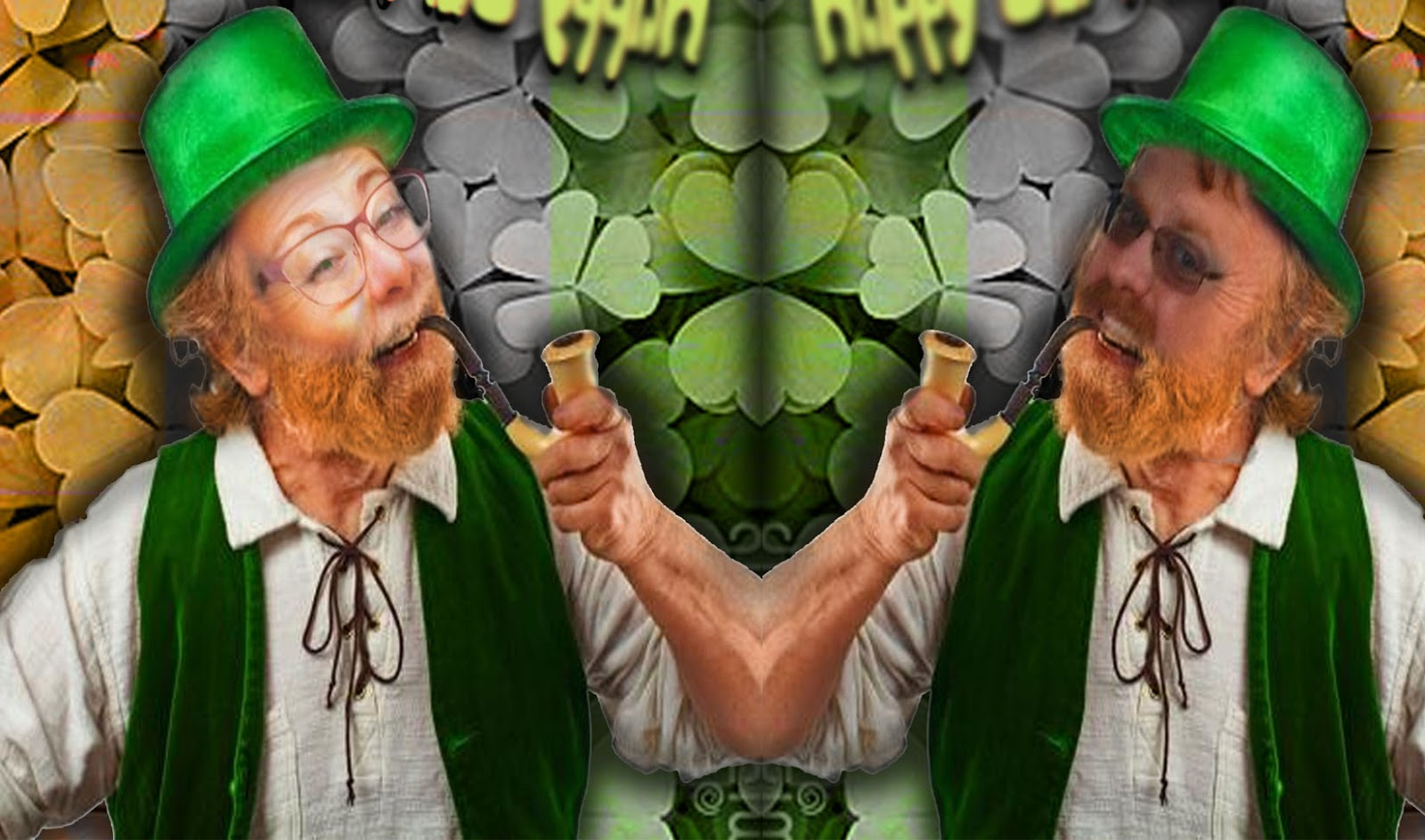 Mrshsartroom graphic design leprechaun yourself directions use copy and paste blending modes filters quick selection tool and etc create your own leprechaun image solutioingenieria Choice Image