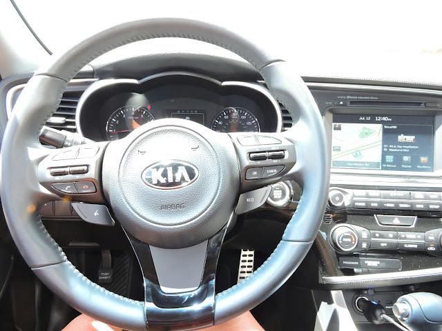 2015 Kia Optima SX Review  via  www.productreviewmom.com