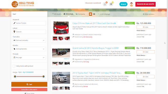 Marketplace Toko Online