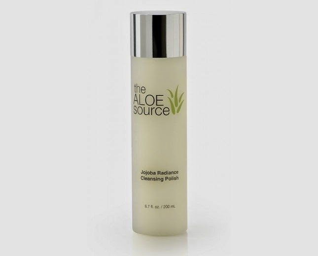 The Aloe Source Jojoba Radiance Cleansing Polish- via ProductReviewMom.com