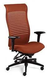 Global Total Office Loover High Back Chair at OfficeFurnitureDeals.com