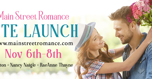 Main Street Romance Site Launch!