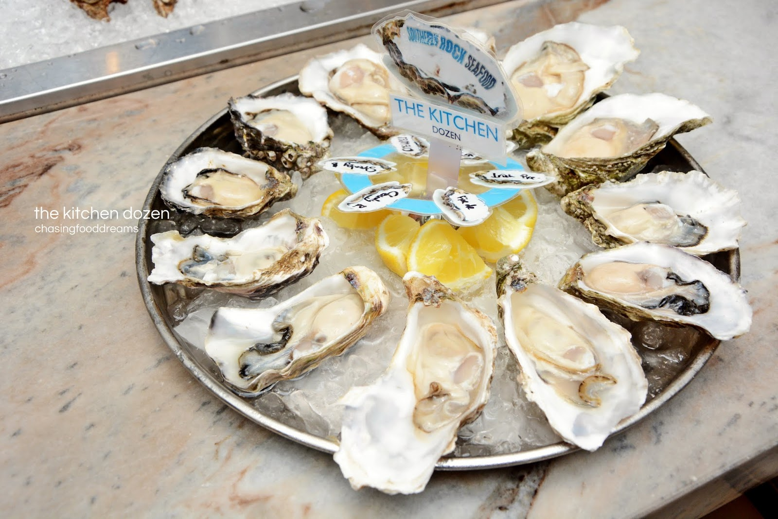 Chasing Food Dreams Southern Rock Seafood Bangsar Tcash Ramadhan Milo Malaysia Activ Go If You Cant Decide On A Single Variety Of Oysters For Their Special The Kitchen Dozen Rm168 Platter Features 2 Pieces Each And Is