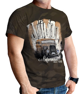 T-Shirt US Car Kollektion Petrolheads Store