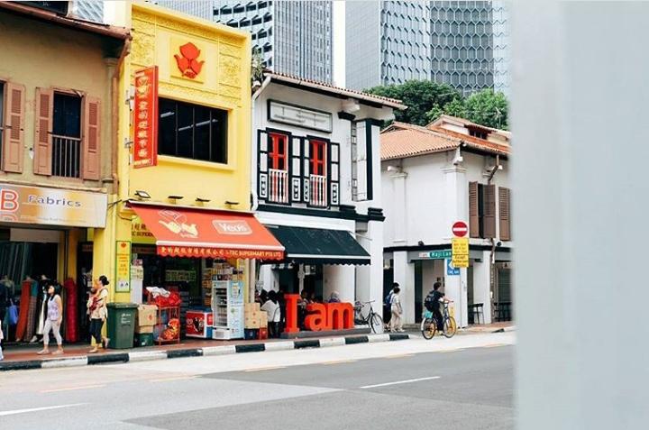 spot foto di bugis singapura