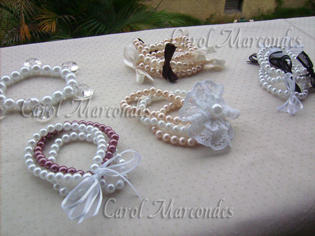Atelie By Carol Marcondes Pulseiras De Perola
