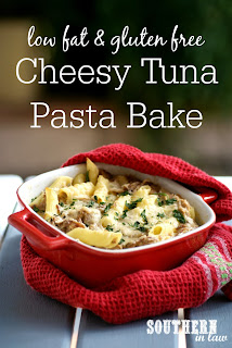 Healthy Cheesy Tuna Pasta Bake Recipe Gluten Free