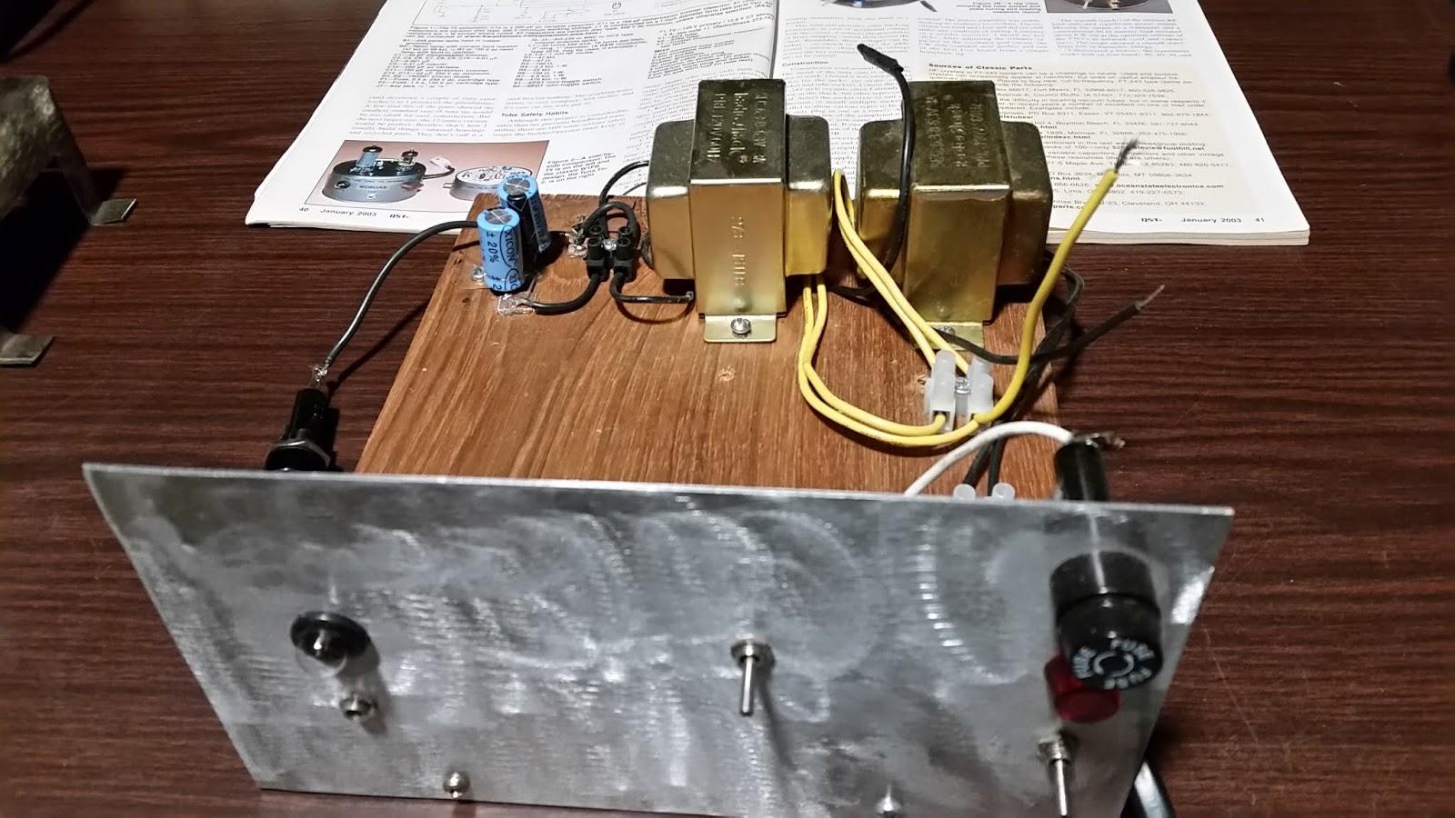 Ham Radio Blogspot: The Two Tuber 8 watt Transmitter