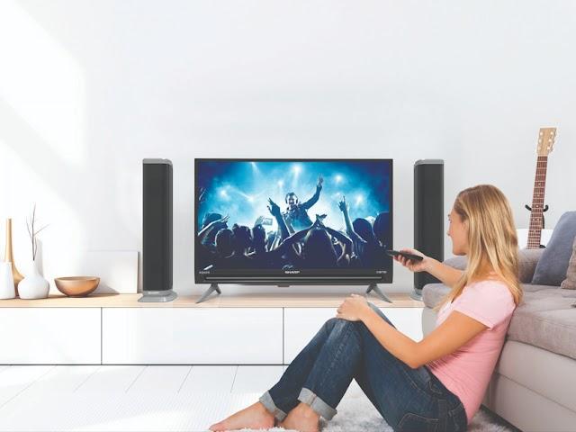 TV LED Sharp Aquos IIOTO, Layar dan Fitur Mumpuni dengan Harga Bersahabat