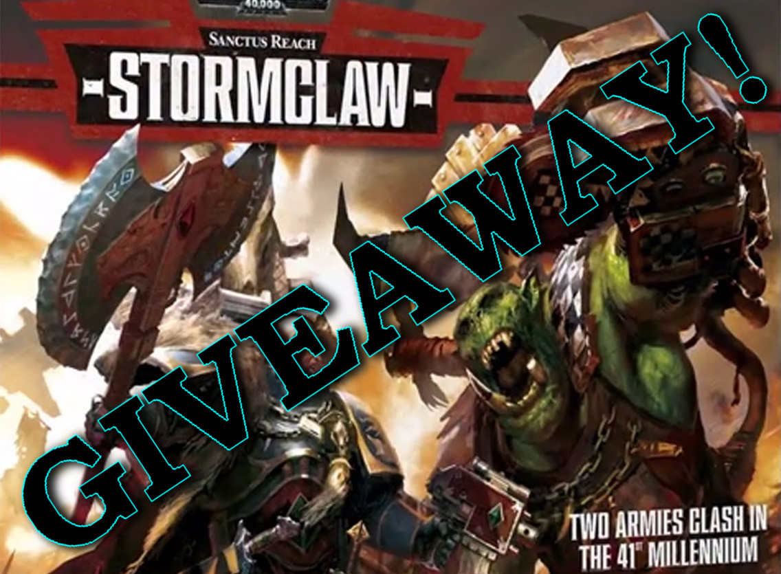 Blog - STORMCLAW GIVEAWAY AND NEW DISCOUNTS