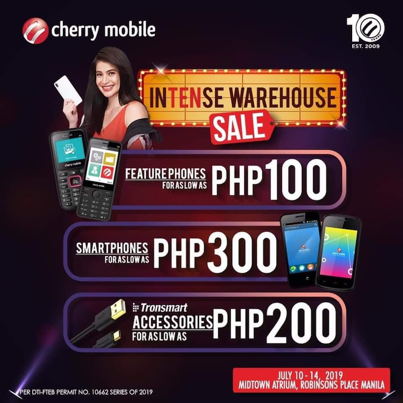 Feature phones as low as PHP 100!
