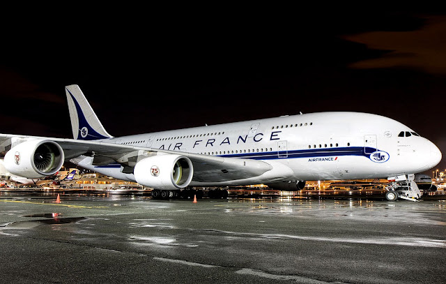 a380 air france special livery