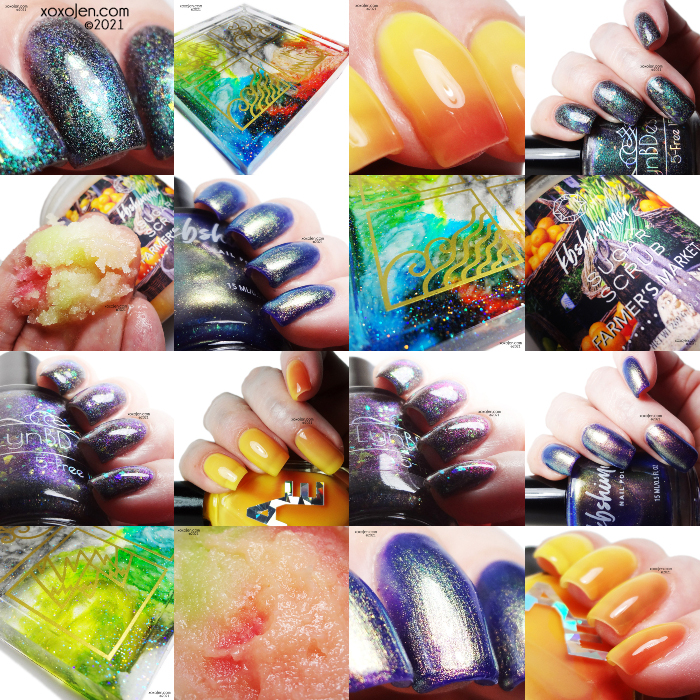 xoxoJen's swatch of Polish Pickup: August The Four Elements