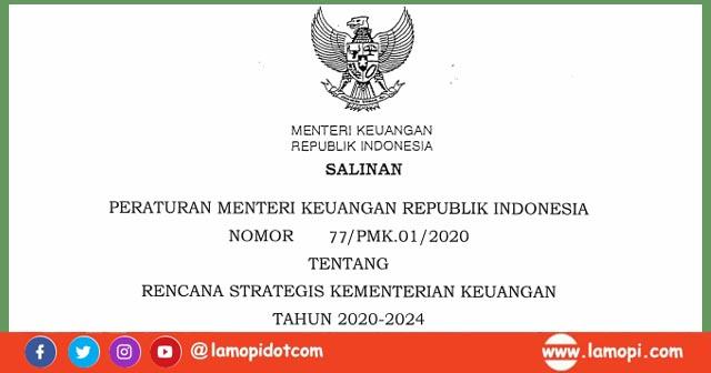 PMK Nomor 77 Tahun 2020