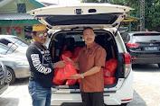 Bantuan Donatur  Terus Mengalir, Jelang Giat Baksos Media Center Koramil 04 Cengkareng