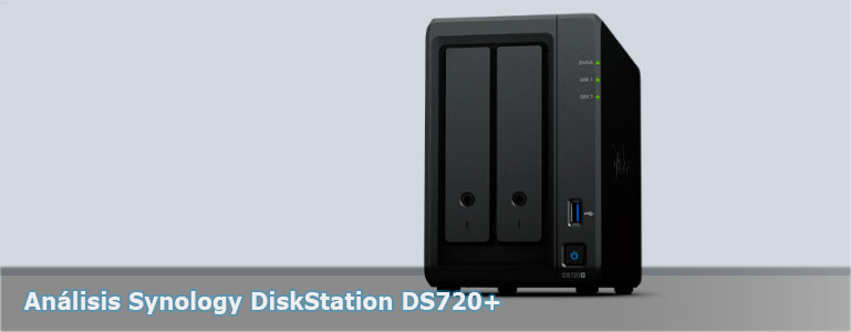 Análisis Synology DiskStation DS720+