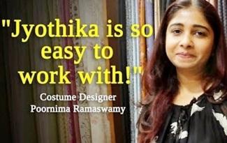 Jyothika controls me | Costume Designer Poornima Ramaswamy | JFW Exclusive