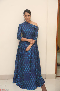 Anchor Anasuya in a Blue Gown at Jai Lava Kusa Trailer Launch ~  Exclusive Celebrities Galleries 003.JPG