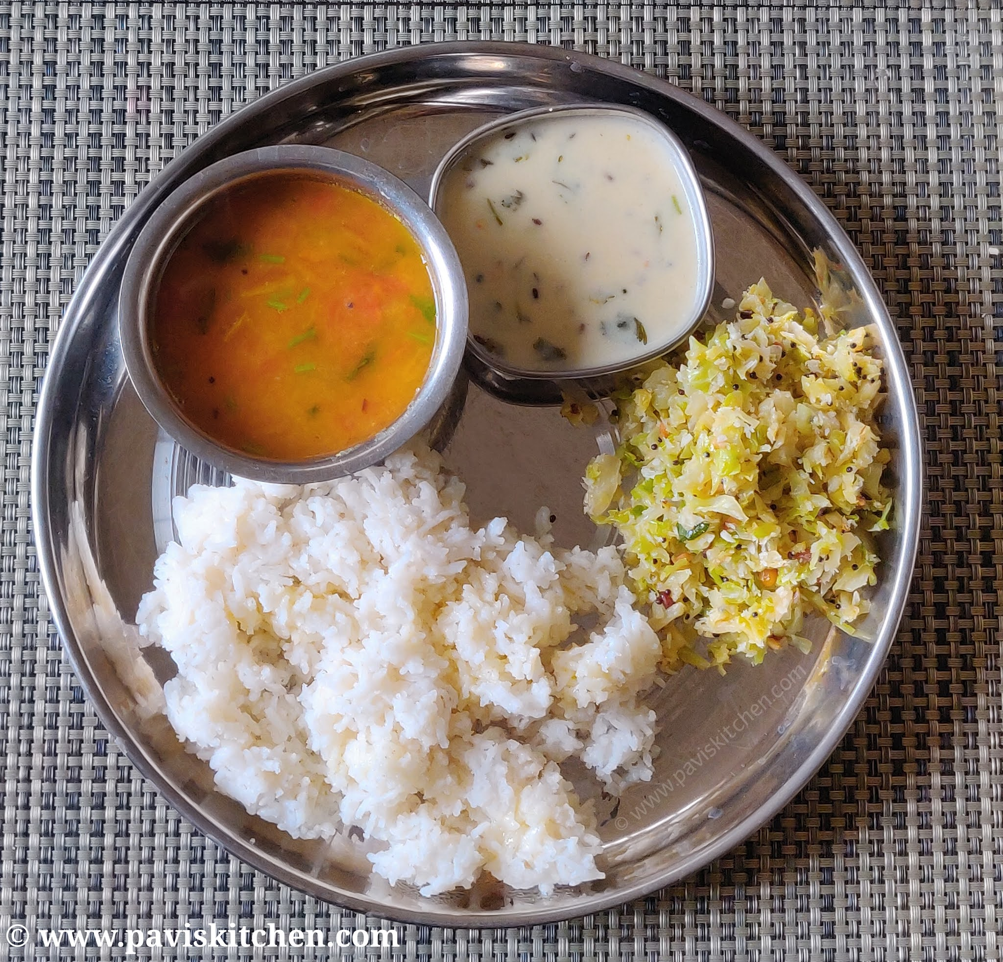 Satvik thali recipe | South Indian thali recipe | Sattvic food recipe ideas