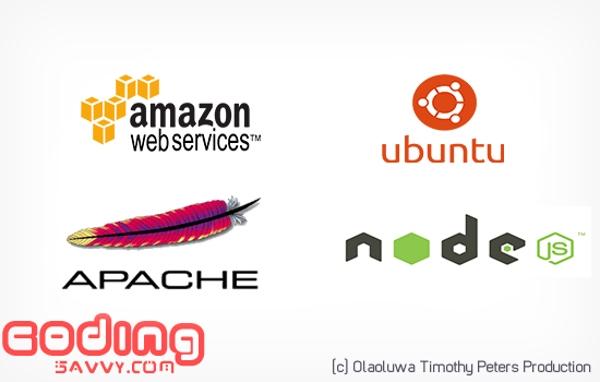 Amazon aws EC2 'Elastic Cloud' Setup with Ubuntu, PHP, Apache and Node.js Installation