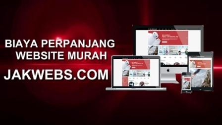 biaya perpanjang website, paket website murah