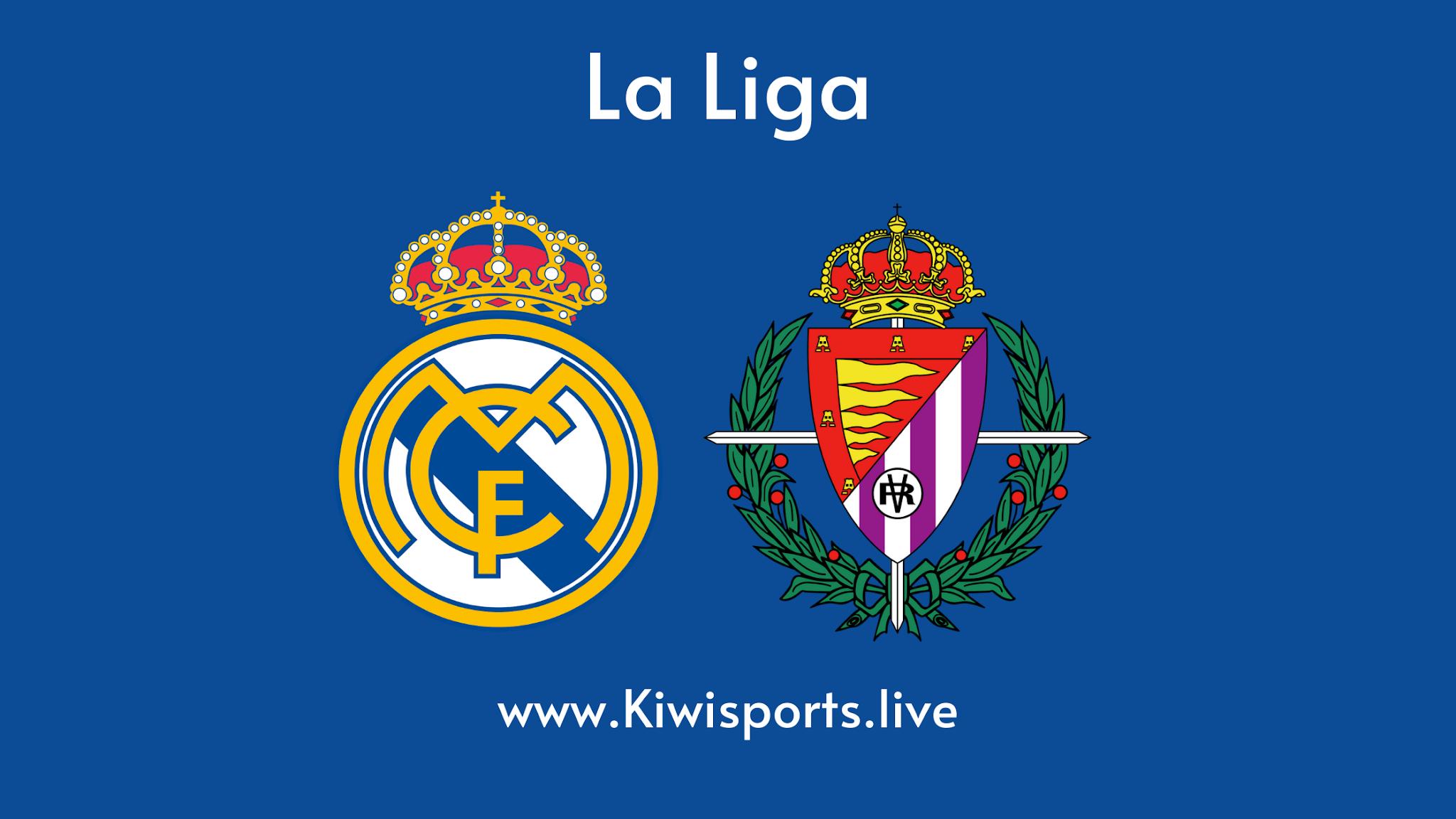 Real Madrid vs Valladolid live stream