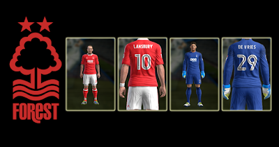 PES 2013 Nottingham Forest 2016-2017 GDB by user_semprot