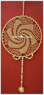 free crochet dream catcher