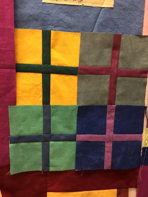 Plus blocks .....a work in progress by marty mason