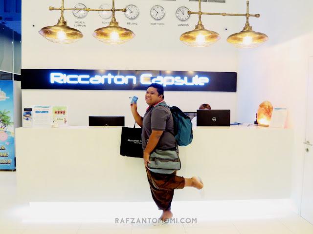 Riccarton Capsule Hotel, Kuala Lumpur - Pengalaman Tidur Dalam Capsule