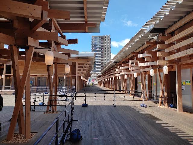 Detalhe da Vila Olímpica