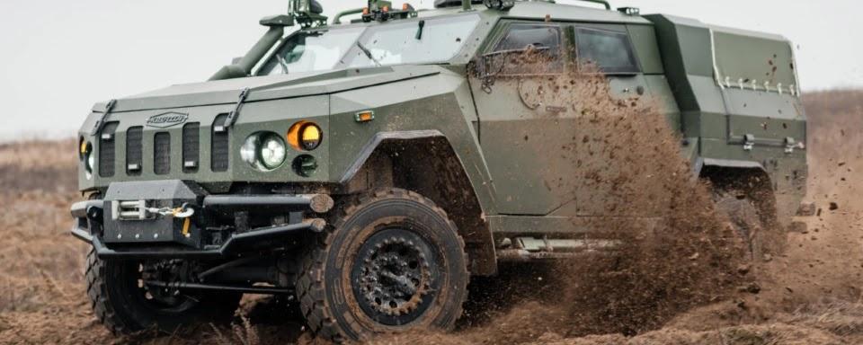 Українська бронетехніка передала НГУ десять Новаторів