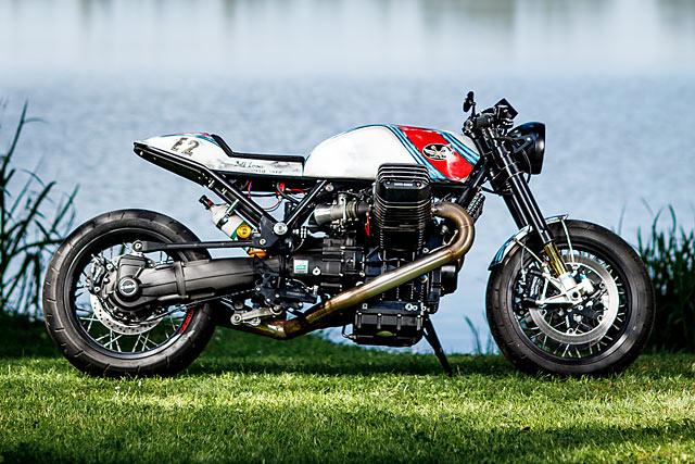Moto Guzzi By Radical Guzzi Hell Kustom
