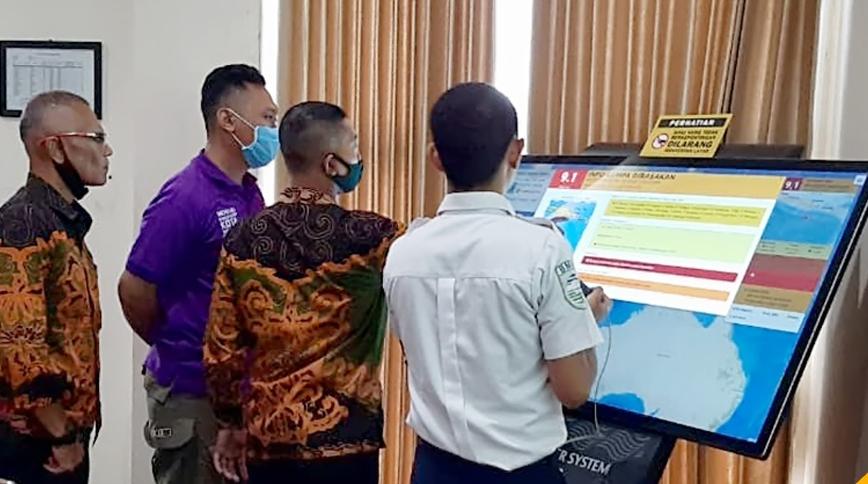 BPBD Miliki WRS, Alat Peringatan Dini Gempa dan Tsunami