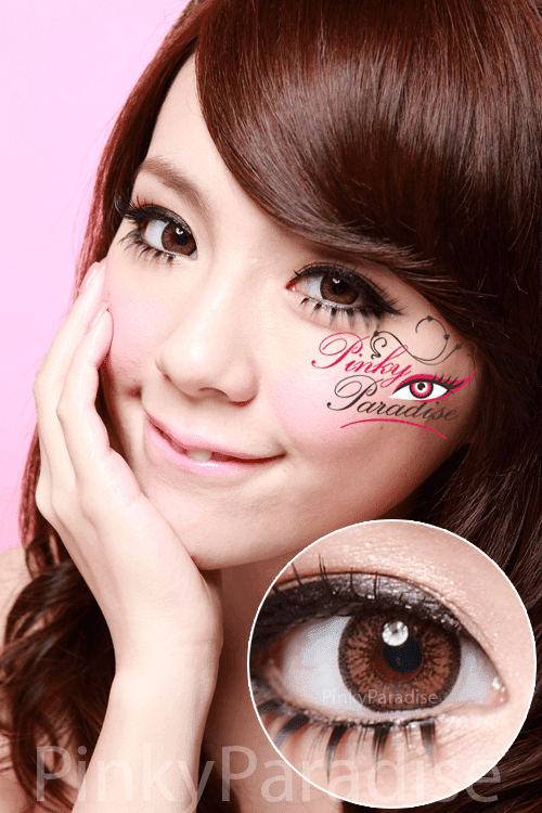 Venus Eye Brown Circle Lenses (Colored Contacts)