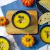 Buch & Rezept: Kürbissuppe mit Mascarpone, schwarzem Reis und Garnelen aus Italy made at Home von Giorgio Locatelli!
