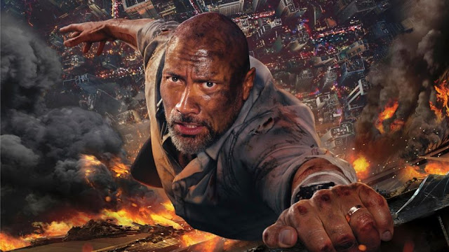 "Dwayne ""The Rock"" Johnson in Skyscraper"