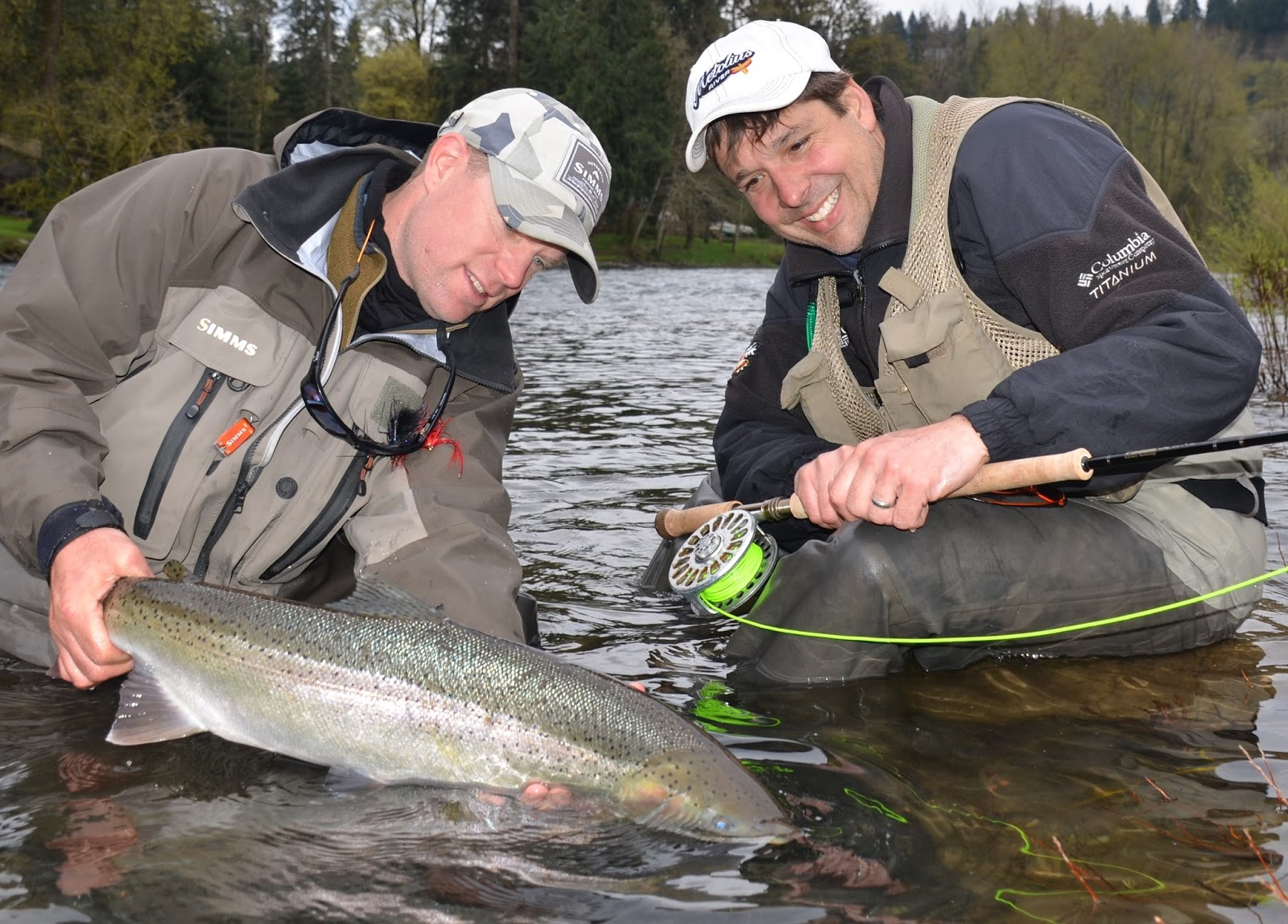Fly fish oregon water time report february 2016 fishing for Fishing report oregon