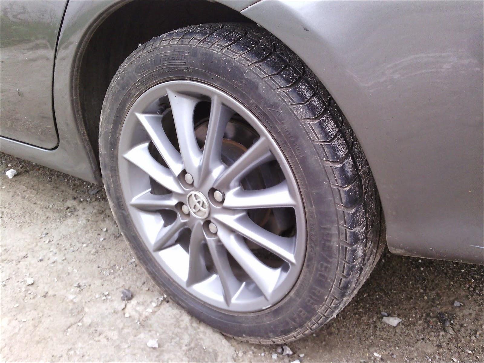 Optional Item: Velg OEM Corolla Altis (made by. Pakoukina Karawang ...