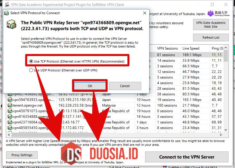 Memilih Protokol VPN
