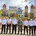 Sinegritas Imigrasi Kelas II Sanggau Dengan Satgas Pamtas RI-Malaysia Yonif 144/Jy di Badau
