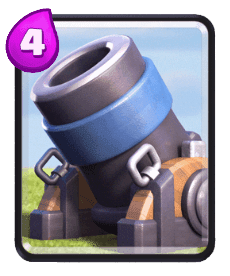 Carta do Morteiro do Clash Royale
